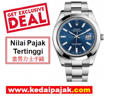 Pajak Rolex Datejust - RM21,000