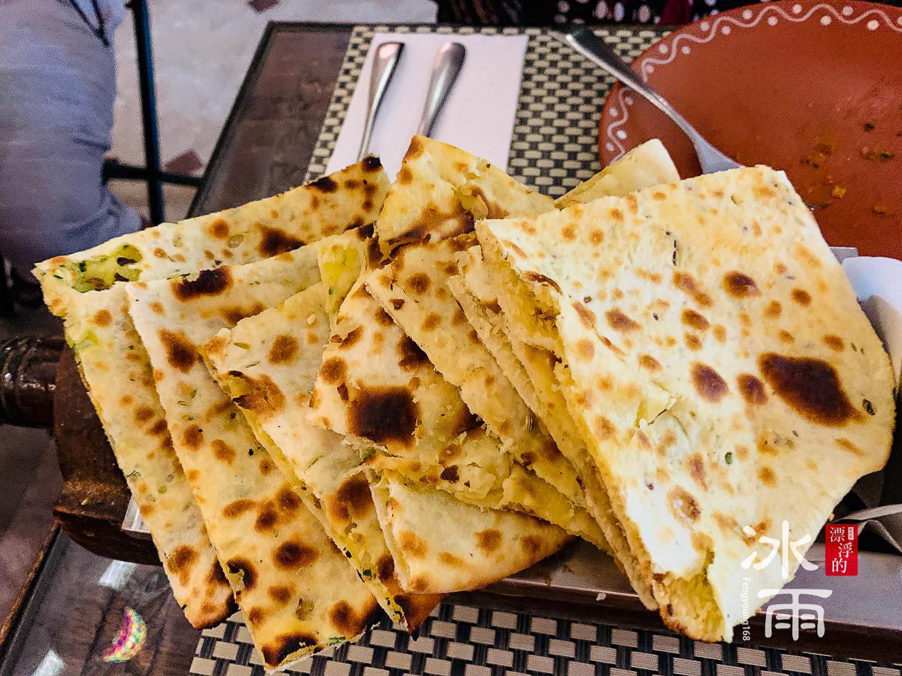 莫夏印度餐廳Moksha|印度烤餅