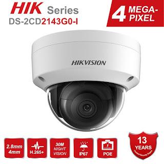 IP Camera HIKVISION DS-2CD2143G0-I 4mm