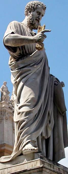 Monumento de San Pedro, El Apóstol