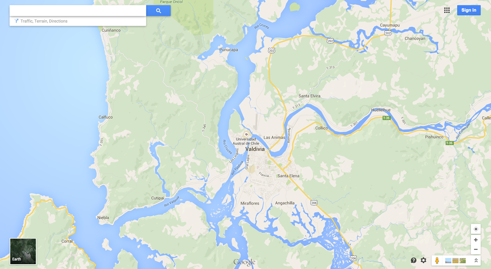 Google Lat Long Building Better Maps In Argentina Chile - Argentina map rivers