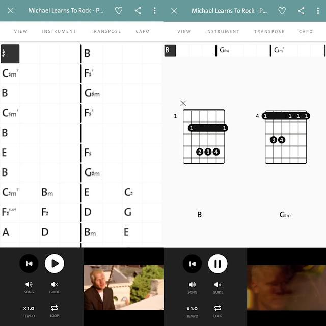 chordify aplikasi chord gitar terbaik