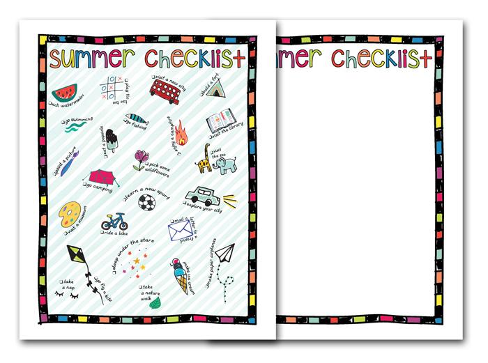 Summer Checklist Printables