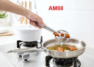 AM88 Pencapit Makanan dengan Saringan – HKN220
