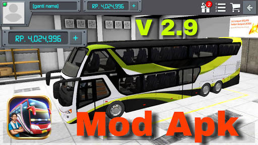 Download Bus Simulator Indonesia (MOD Unlimited Money)