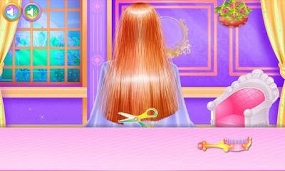 لعبة تصفيف الشعر للحفلات للاندرويد