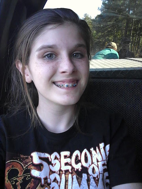 Teen Captured A Ghost In Her Selfie During Her Camping Trip Gone Viral