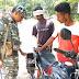बुढै़ई पुलिस ने चलाया एंटी क्राइम व मास की चेकिंग अभियान