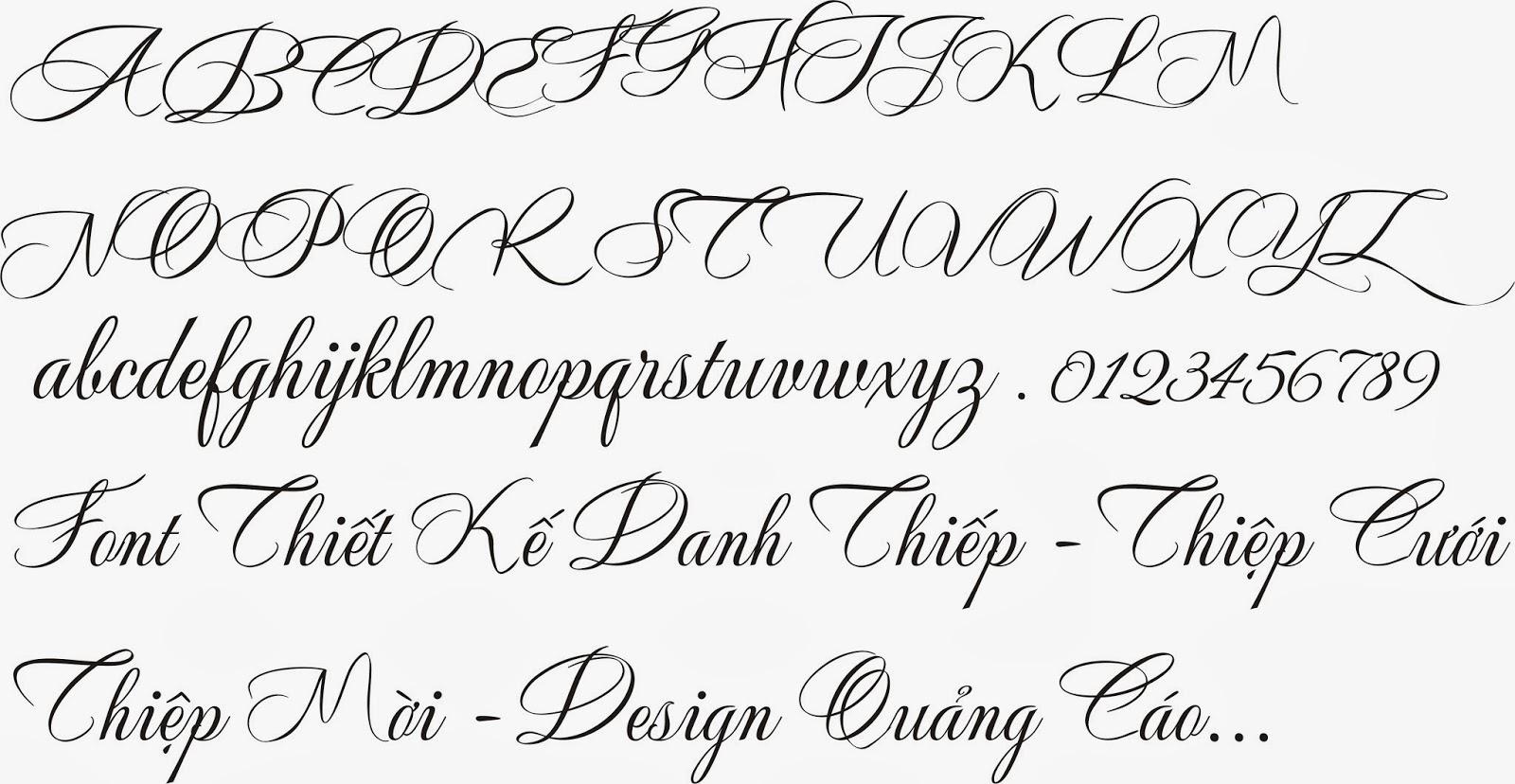 fonts wedding: Fonts Chữ đẹp in thiệp cưới.