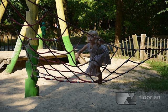 W Center Parcs Bispinger Heide znajduje się mnóstwo placów zabaw dla dzieci
