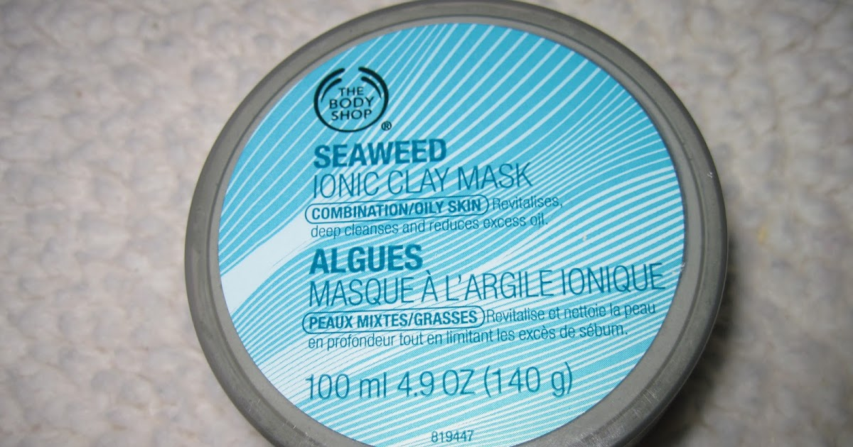 Skin Stuff by Katy: Review: The Body Shop Seaweed Ionic Clay