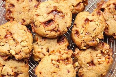 cookies noix caramel