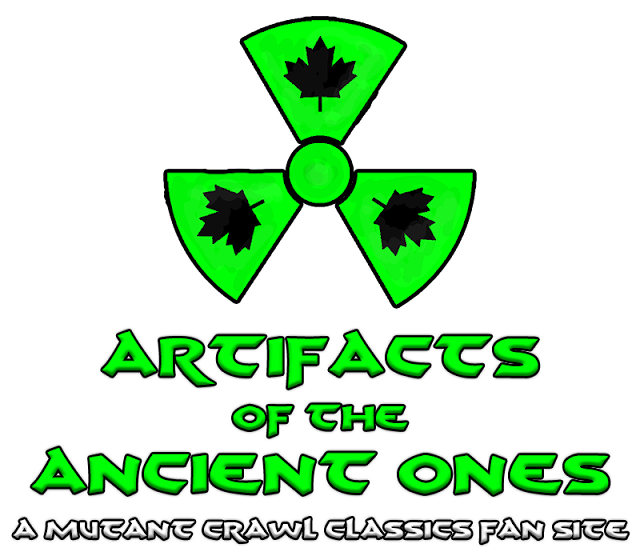 Artifacts of the Ancient Ones: A Mutant Crawl Classics Fan Site