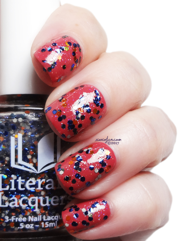 xoxoJen's swatch of Literary Lacquers The Best You Have