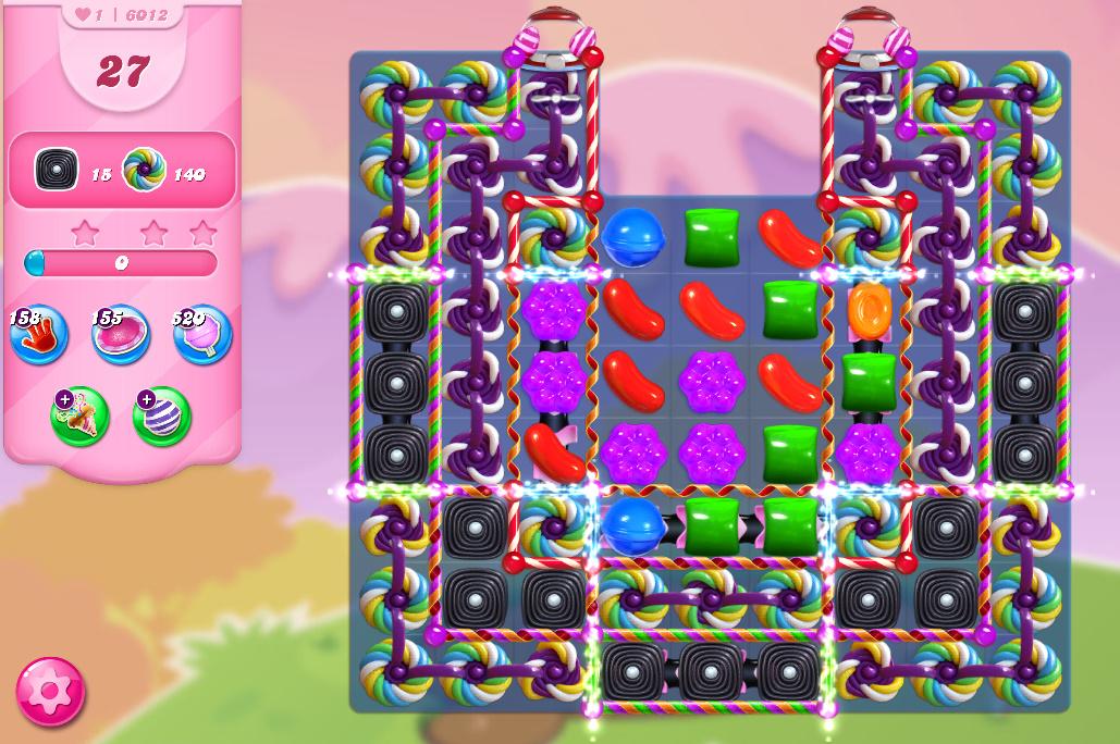 Candy Crush Saga level 6012