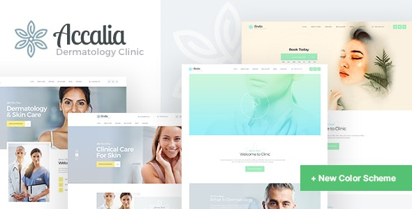 [Download] Accalia | Dermatology Clinic & Cosmetology Center Medical WordPress Theme