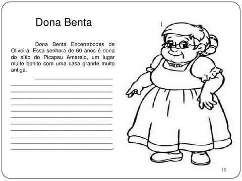 Dona Benta Sítio do Picapau Amarelo