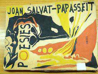Coberta del llibre: Poesies / Joan Salvat-Papasseit