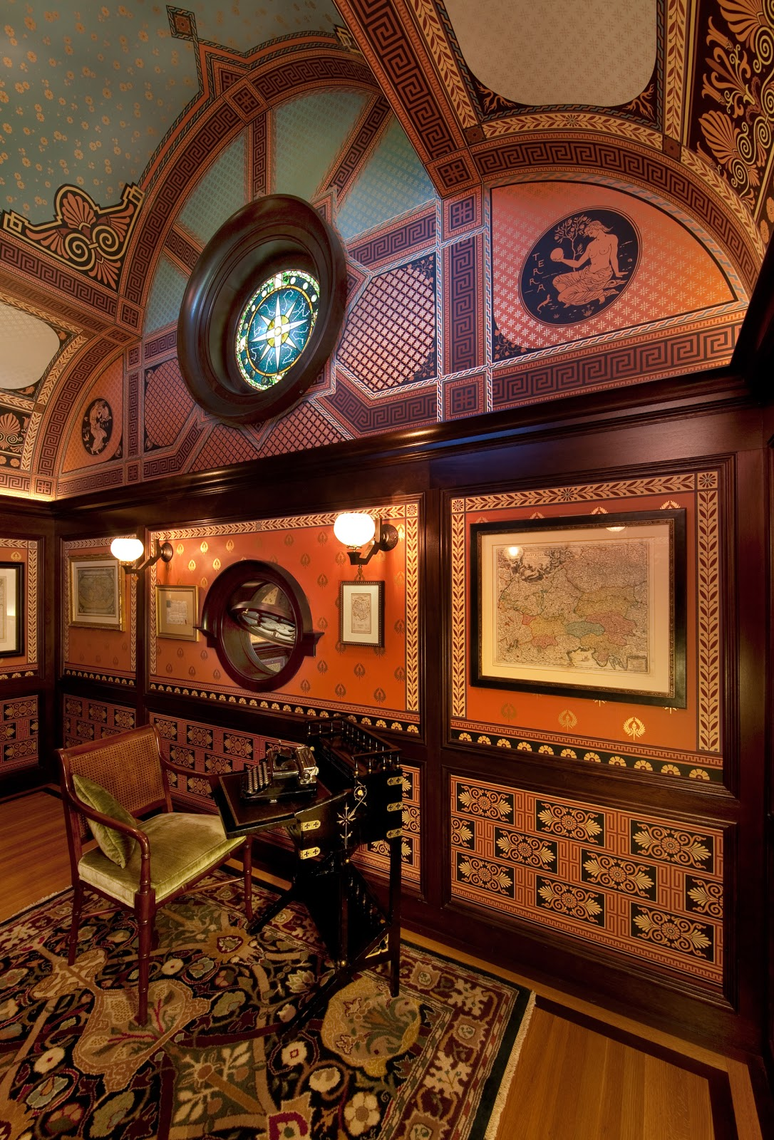Rynerson OBrien Architecture, Inc.: The McDonald Mansion's Formal Rooms