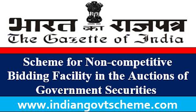 Scheme for Non-competitive Bidding