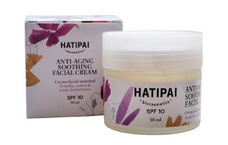 HATIPAI BIOCOSMETICS_Anti-aging soothing facial cream_26 EUR