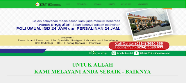 Jadwal Dokter RS Baitul Hikmah Kendal
