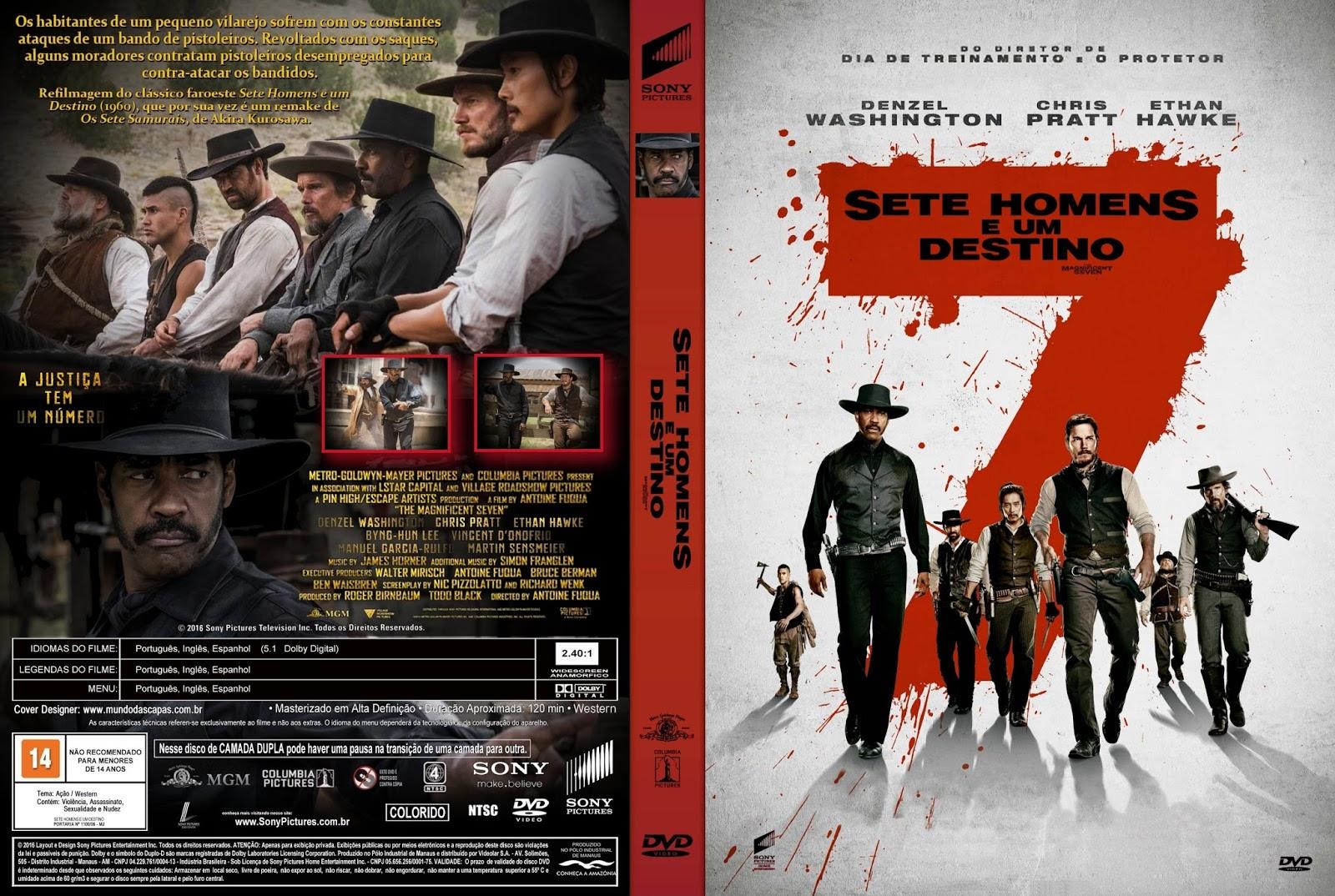 Capa Sete Homens e um Destino Torrent 720p 1080p 4k Dublado Baixar