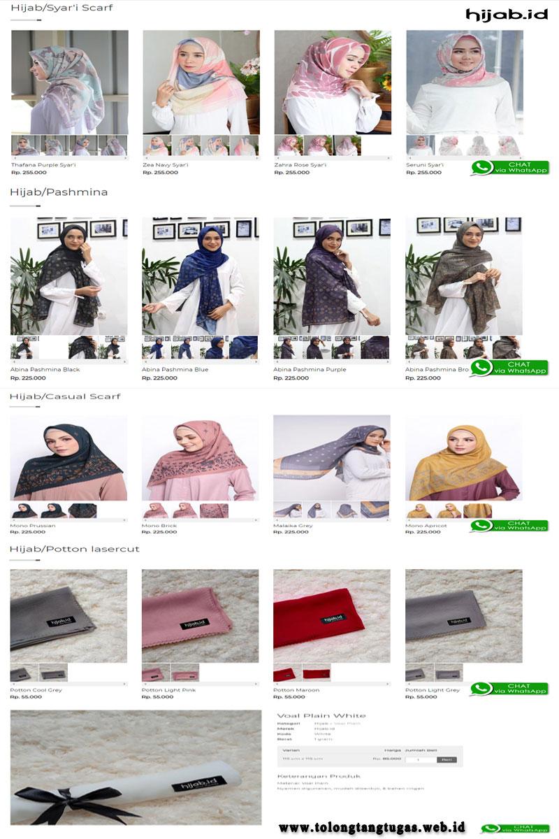 List Hijab dan Busana Syar'i