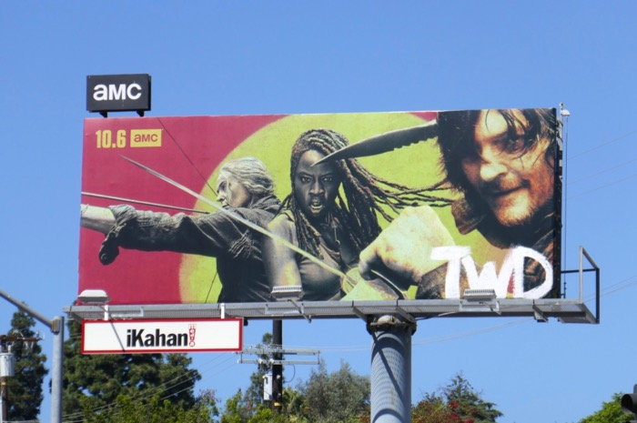TWD season 10 billboard