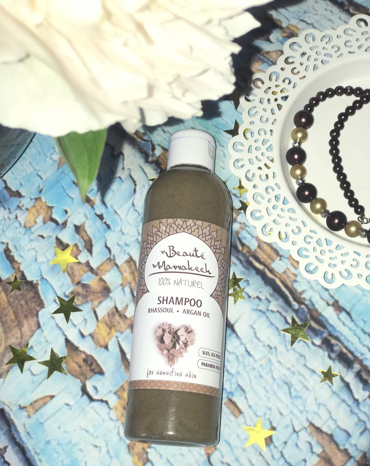 Beaute Marrrakech szampon z glinką Rhassoul i olejem arganowym / dla skóry wrażliwej