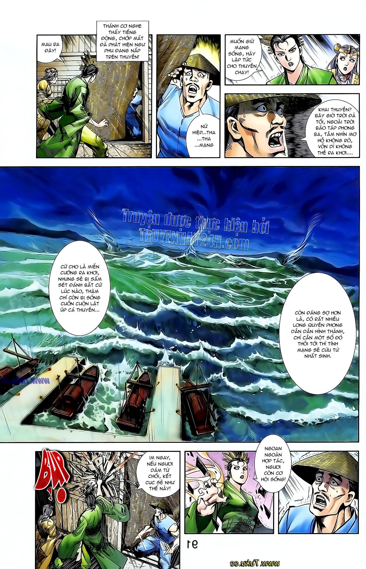 Cơ Phát Khai Chu Bản chapter 128 trang 22