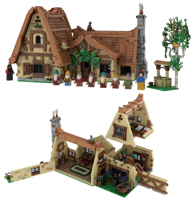 白雪姫の七人のこびとの家:The Seven Dwarfs' House