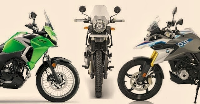 Comparisons, BMW G 310 GS, Kawasaki Versys X-300, Royal Enfield Himalayan