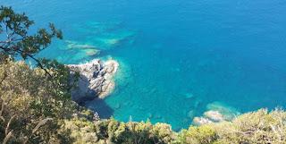Costa de Cinque Terre desde el Sendero Azul.
