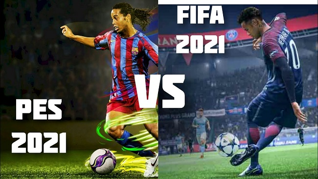 PES 2021 vs FIFA 21 Graphics