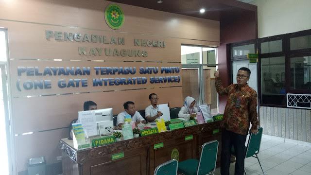 Ketua PN Kayuagung: Kalau Ada Pungutan Laporkan Kepada Kami