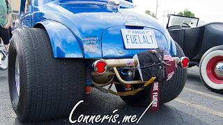 1947 FIAT 500 Hot Rod Rear