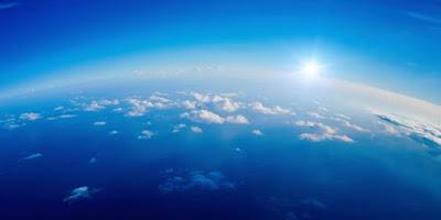 Gökyüzü neden mavidir?, Gökyüzü, Mavi Gökyüzü