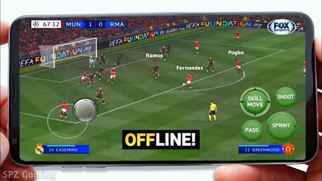 FIFA 21 Android Offline Best Graphics With commentary Fixed manager Real Faces New Menu APK+OBB