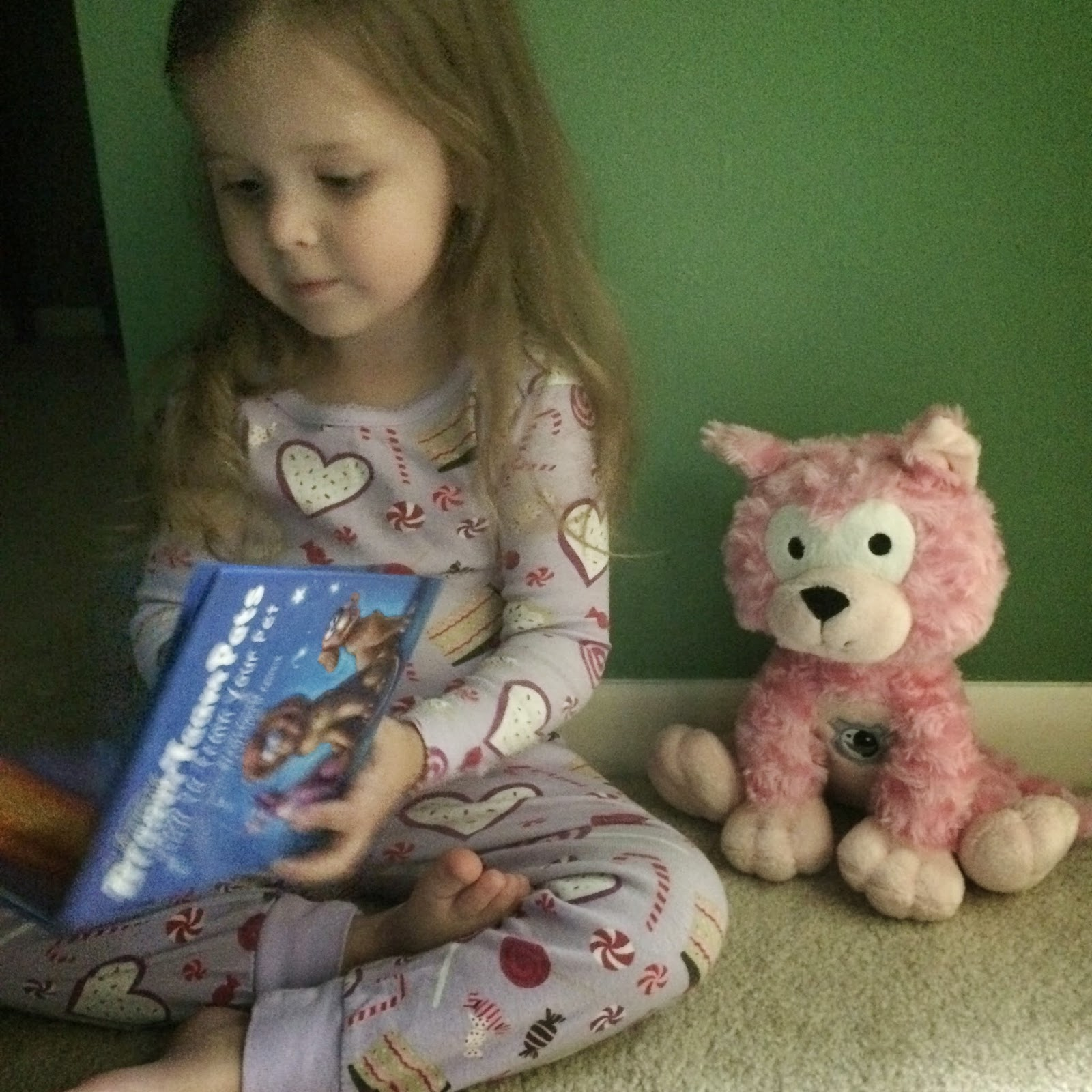 reading with Dream Team Pets 2