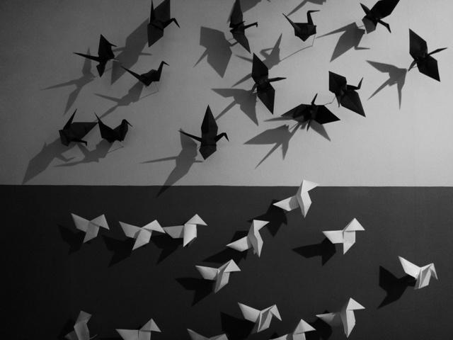 Oriente y Occidente en el Museo del Origami