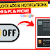 How To Disable Notifications & POP-UP Ads In Phone/PC [GOOGLE CHROME]