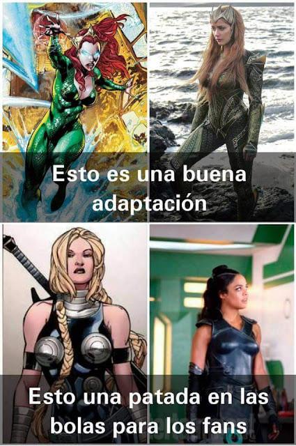 Esto se va poner feo... #Marvel vs #DC