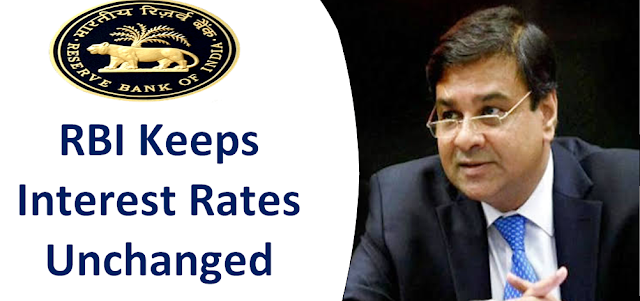 RBI has announced Fourth Bi-Monthly Monetary Policy Statement 2018-19, RBI keeps interest rates unchanged