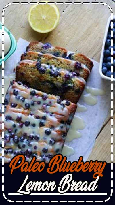 This Paleo Blueberry Lemon Bread is loaded with protein-rich almond flour, nutrient-dense eggs, and oh-so-good-for-you coconut oil. Without the lemony sweet glaze, you could eat this for breakfast. But please... don't skip the glaze. It's the best part