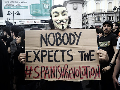 Nobody Expects The Spanish Revolution 15M