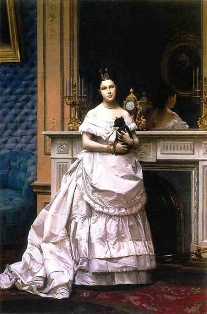 Jean-Léon Gérôme - Портрет Мари Жером