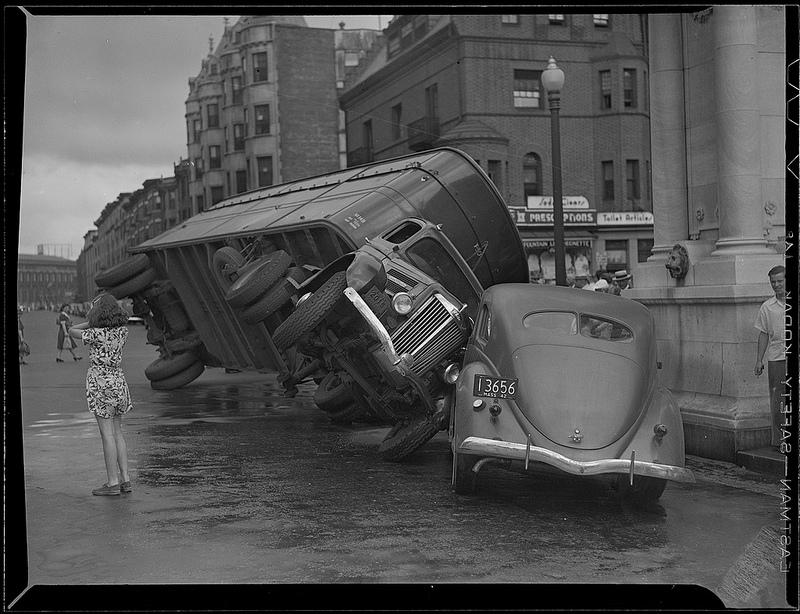 Car Accident Harbour Bridge