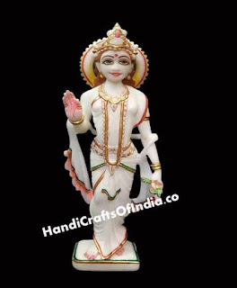 Marble Radha Statue