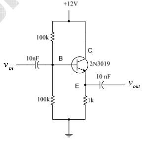 Laporan Praktikum Elektronika Dasar 1 - Penguat Pengikut Emitor